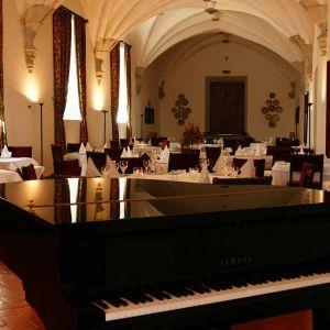 Pousada de Beja Restaurant met Piano