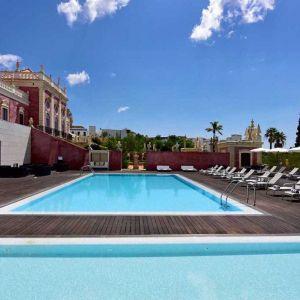 Pousada Palácio de Estói buiten zwembad