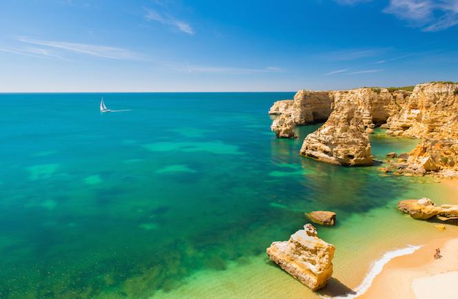 Praia da Marinha Strand Vakantie Algarve