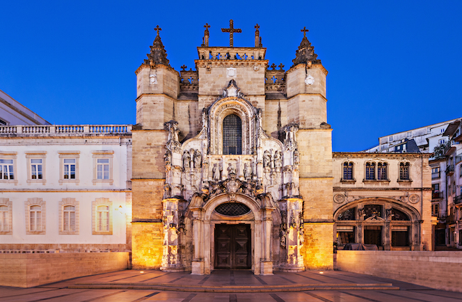 Het klooster van Santa Cruz - Coimbra