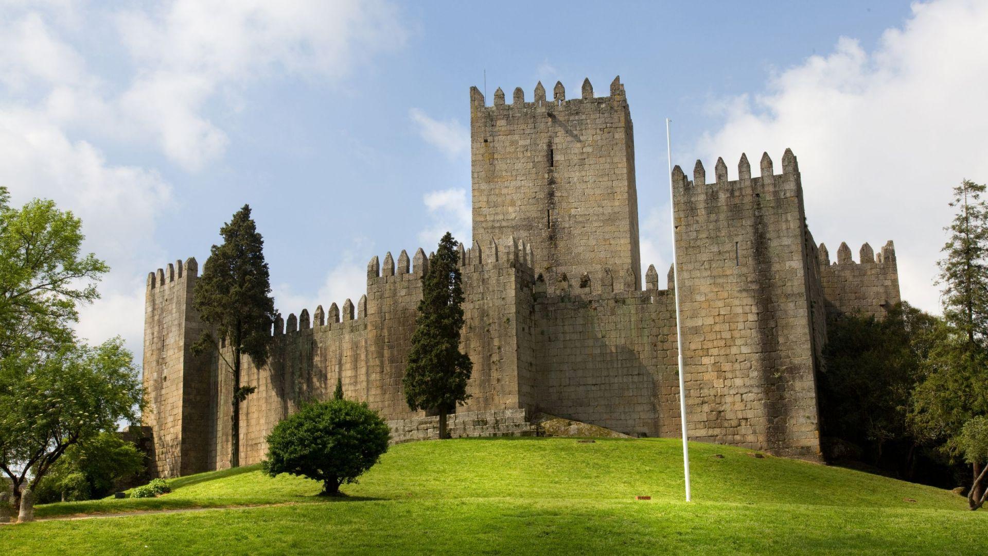 Het Guimarães kasteel