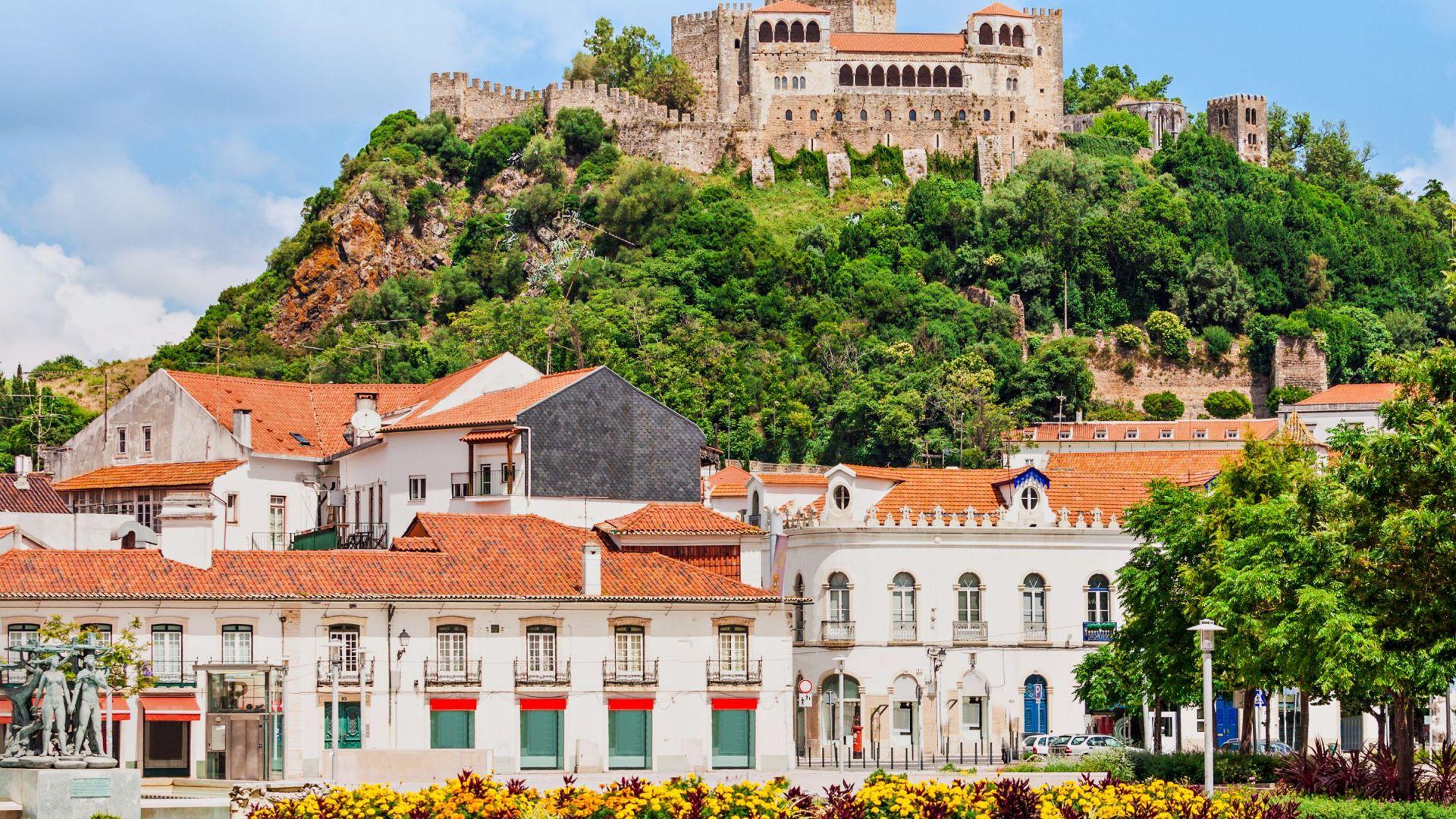 Het Leiria kasteel