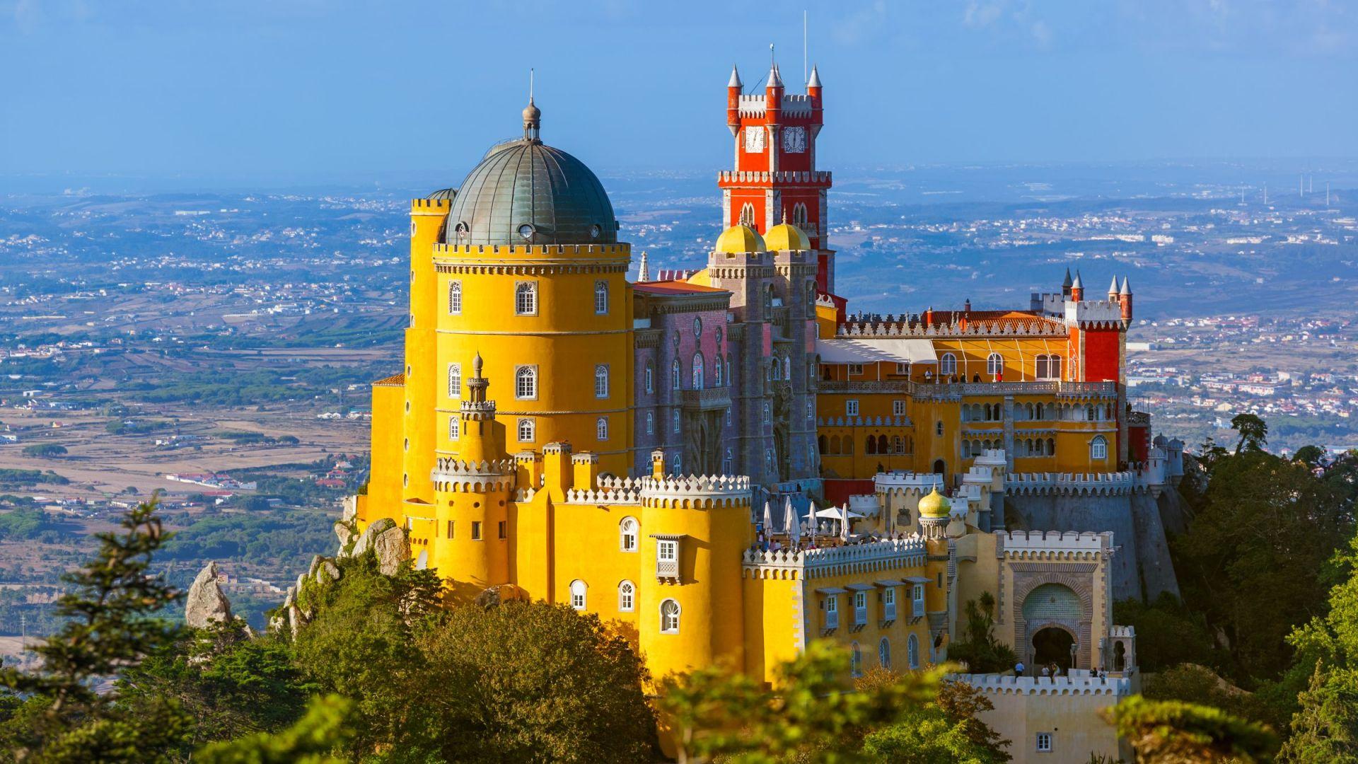 Het Pena Paleis in Sintra - Palácio da Pena