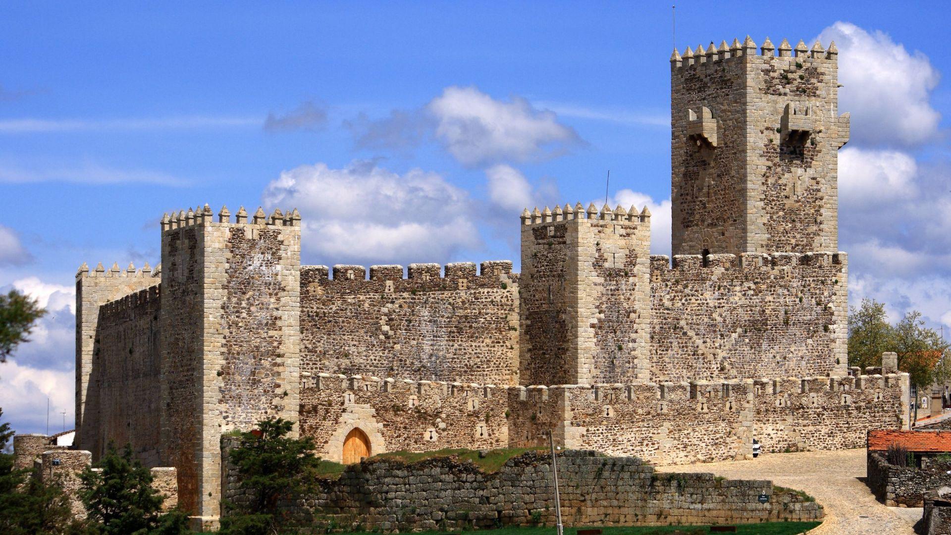 Het kasteel van Sabugal in Guarda