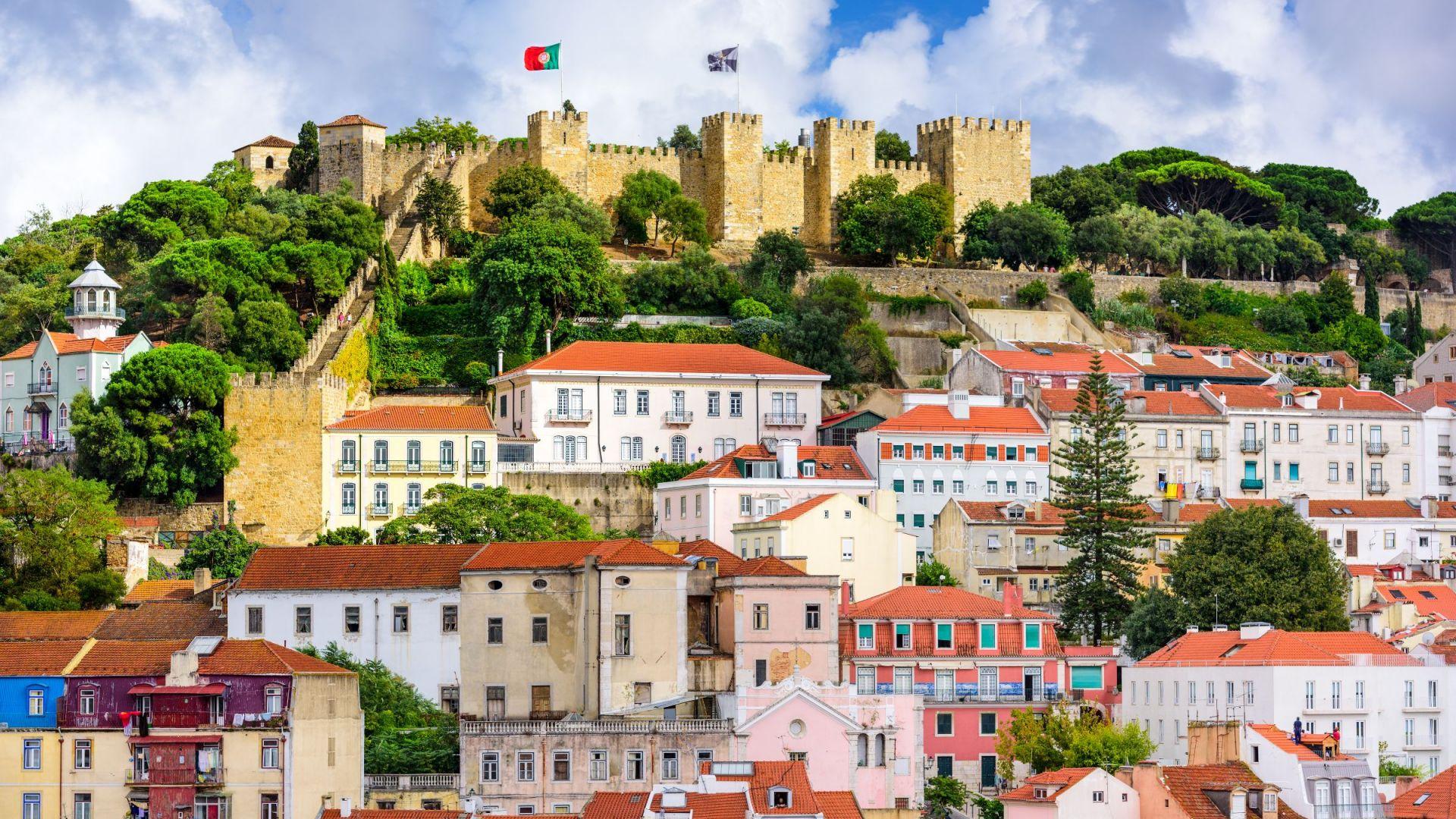 Het São Jorge kasteel