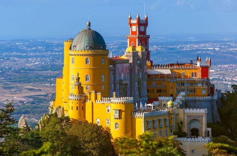 Ontzagwekkende kastelen en paleizen in Portugal