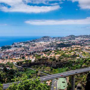 Funchal Madeira Uitzicht