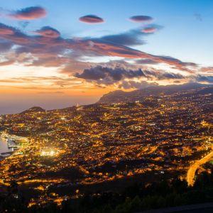 Funchal Madeira Vakantie Fly Drive Rondreis Avond