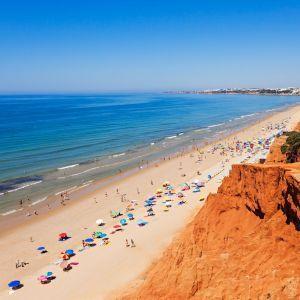 Praia da Falésia Strand Albufeira Portugal