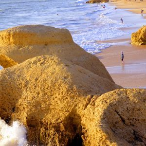 Praia da Galé Strand Albufeira Portugal