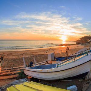 Praia dos Pescadores Strand Albufeira Portugal