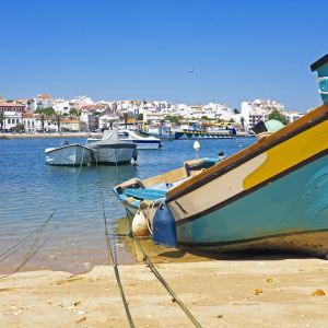 Boot Lagos Strand Algarve