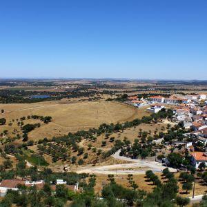 Landschap Arraiolos Alentejo Portugal