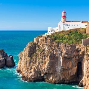 Sagres vuurtoren Algarve