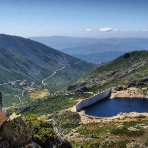 Serra da Estrela mooi uitzicht