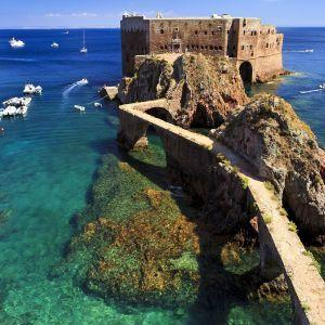 Berlengas eiland Portugal