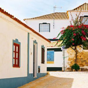 Albufeira dorp Portugal