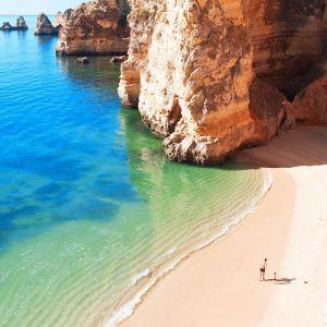 Strand Lagos Algarve Portugal
