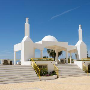 Quarteira Marginal Boulevard Algarve Portugal