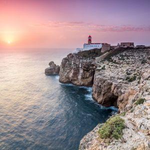 Sagres vuurtoren Algarve Portugal