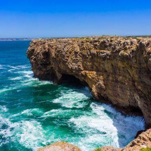 Sagres baai Algarve Portugal