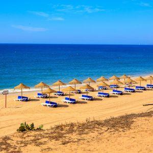 Strand Vakantie Quarteira Algarve Portugal