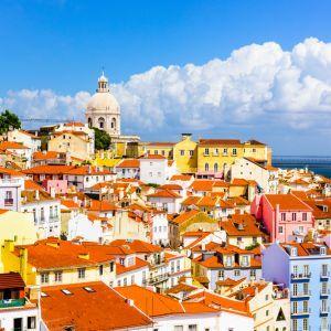 Lissabon Portugal uitzicht