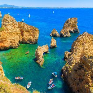 Ponta da piedade Lagos Algarve