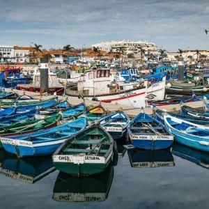 Vissersboten Setubal Portugal