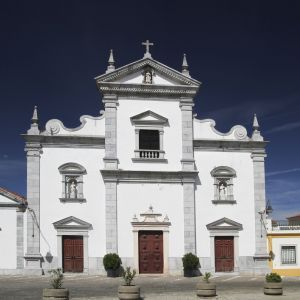 Kerk in Beja Portugal