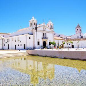 Lagos Plein Algarve Portugal