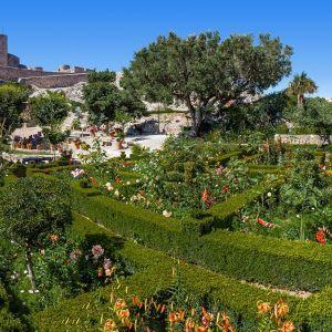 Marvao tuin en kasteel