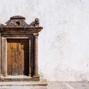 Marvao kerk deur