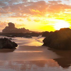 Sagres zonondergang Algarve