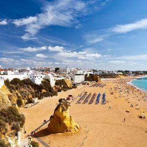 Praia dos Pescadores Strand Portugal