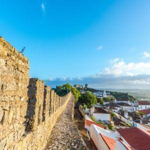 Obidos Portugal uitzicht