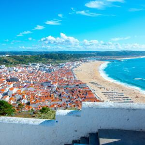 Nazaré dorp Portugal