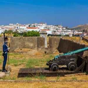 Elvas vestingstad Alentejo Portugal