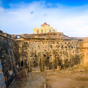 Elvas kasteel Alentejo Portugal