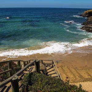 Vila Nova de Milfontes baai Portugal
