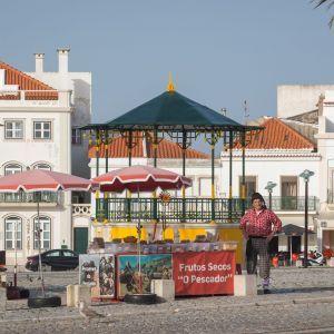Nazaré stad Portugal