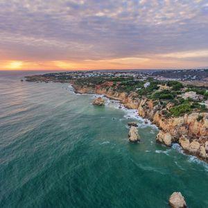 Albufeira Portugal Uitzicht