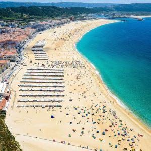 Nazare Portugal Strand Vakantie