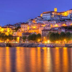 Coimbra avond