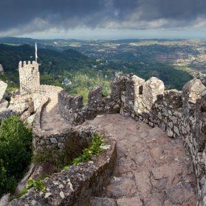 het kasteel van de moren in Sintra