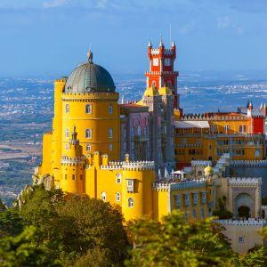 Pena Paleis in Sintra