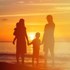 Portugal FamilieVakantie Zonondergang