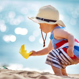 Portugal FamilieVakantie Kinderen Spelen Strand