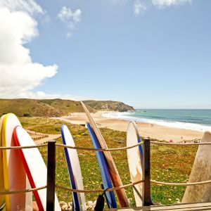 Surfboards Portugal Strand